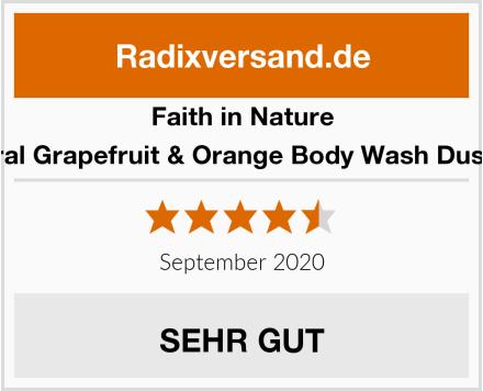 Faith in Nature Natural Grapefruit & Orange Body Wash Duschgel Test