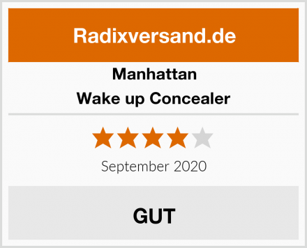 Manhattan Wake up Concealer Test