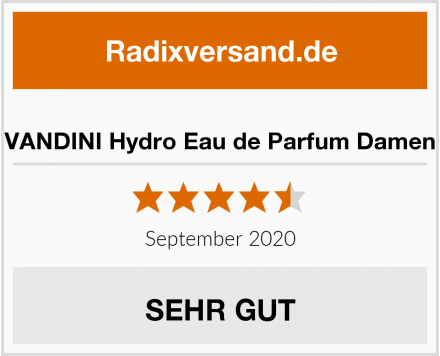 VANDINI Hydro Eau de Parfum Damen Test