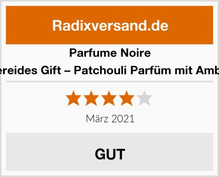Parfume Noire Nereides Gift – Patchouli Parfüm mit Amber Test