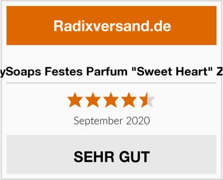 """EveButterflySoaps Festes Parfum """"Sweet Heart"""" Zuckerwatte Test"""