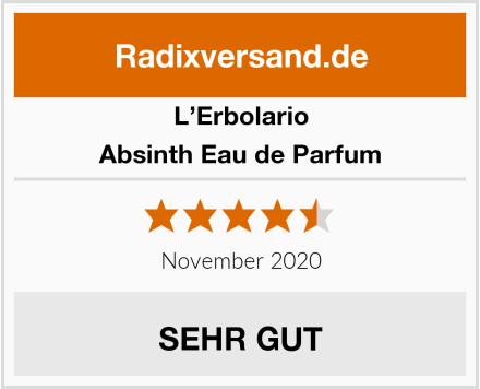 L'Erbolario Absinth Eau de Parfum Test