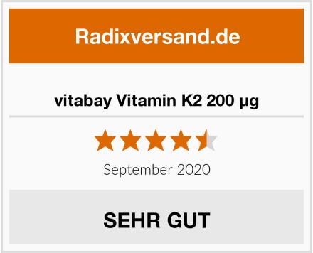 vitabay Vitamin K2 200 µg Test
