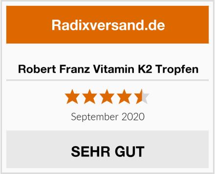 Robert Franz Vitamin K2 Tropfen Test