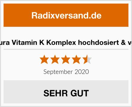 Vispura Vitamin K Komplex hochdosiert & vegan Test