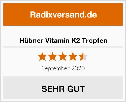 Hübner Vitamin K2 Tropfen Test