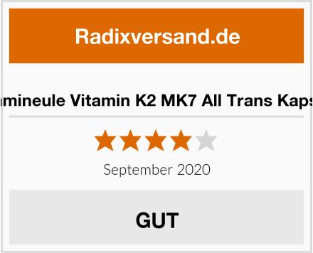 Vitamineule Vitamin K2 MK7 All Trans Kapseln Test