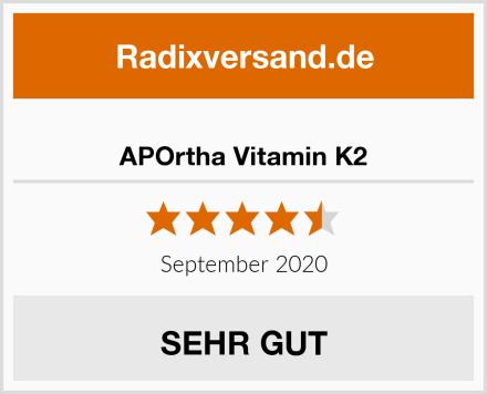 APOrtha Vitamin K2 Test