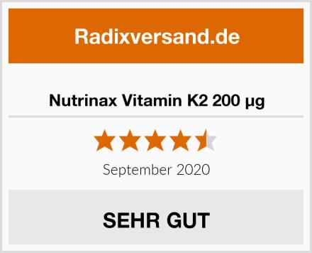 Nutrinax Vitamin K2 200 µg Test