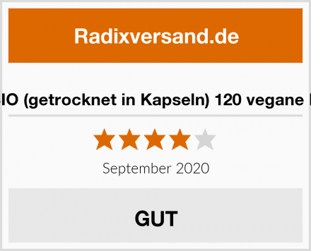 Natto BIO (getrocknet in Kapseln) 120 vegane Kapseln Test