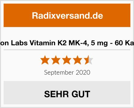 Carlson Labs Vitamin K2 MK-4, 5 mg - 60 Kapseln Test