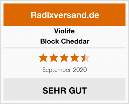 Violife Block Cheddar Test