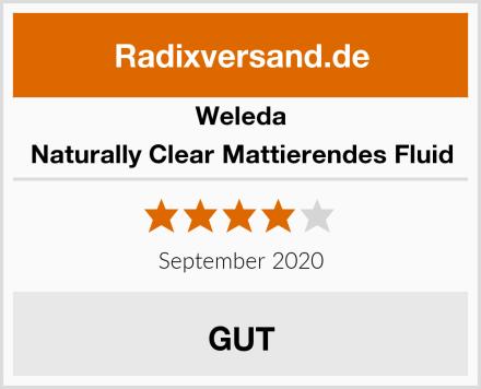 Weleda Naturally Clear Mattierendes Fluid Test