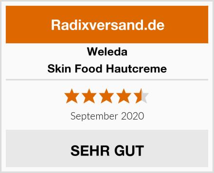 Weleda Skin Food Hautcreme Test