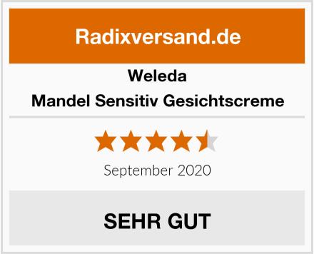 Weleda Mandel Sensitiv Gesichtscreme Test