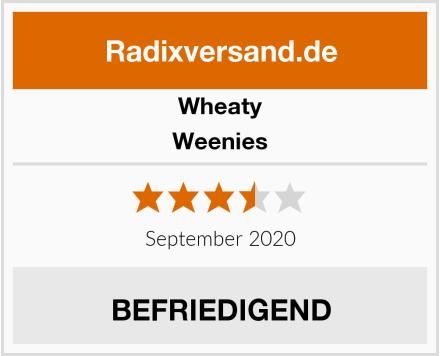 Wheaty Weenies Test