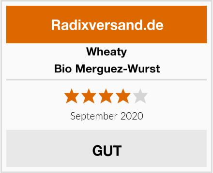 Wheaty Bio Merguez-Wurst Test