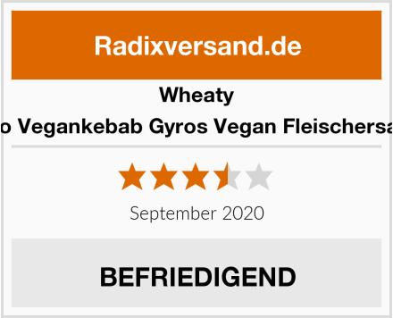 Wheaty Bio Vegankebab Gyros Vegan Fleischersatz Test