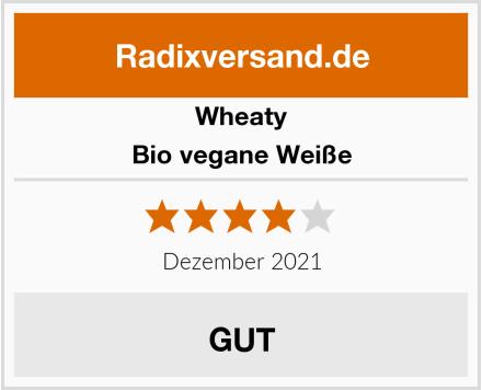 Wheaty Bio vegane Weiße Test