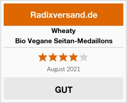 Wheaty Bio Vegane Seitan-Medaillons Test