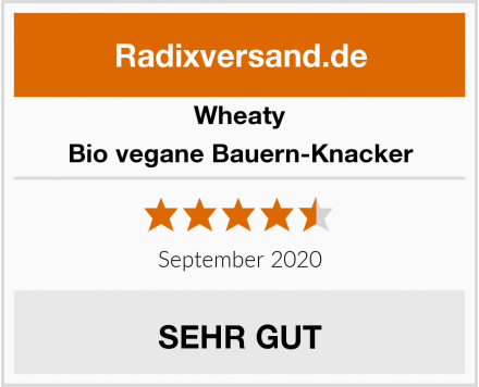 Wheaty Bio vegane Bauern-Knacker Test