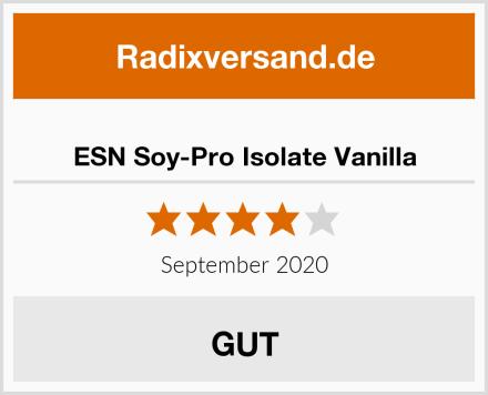 ESN Soy-Pro Isolate Vanilla Test