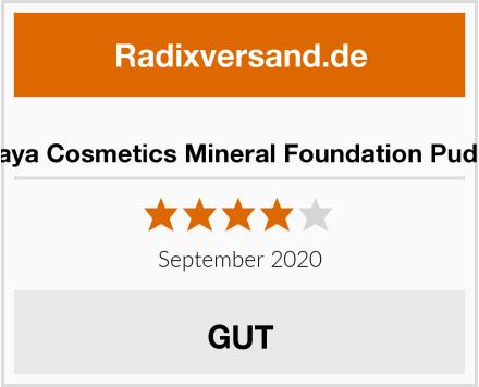 Gaya Cosmetics Mineral Foundation Puder Test