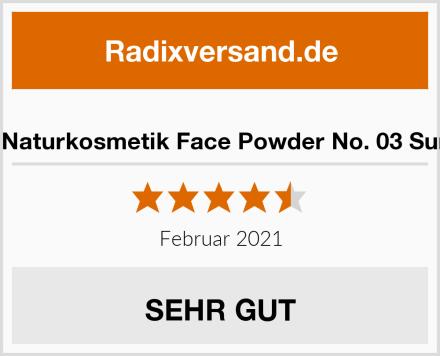 LOGONA Naturkosmetik Face Powder No. 03 Sunny Beige Test