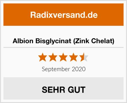 Albion Bisglycinat (Zink Chelat) Test