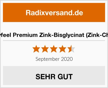 gloryfeel Premium Zink-Bisglycinat (Zink-Chelat) Test