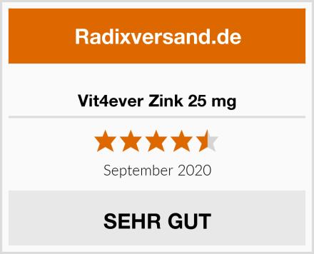Vit4ever Zink 25 mg Test