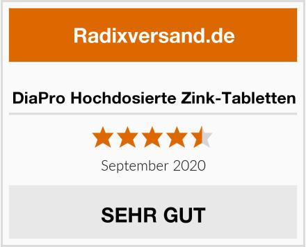 DiaPro Hochdosierte Zink-Tabletten Test