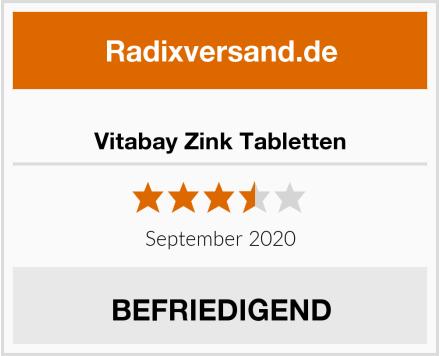 Vitabay Zink Tabletten Test