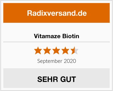 Vitamaze Biotin Test