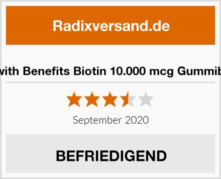 Bears with Benefits Biotin 10.000 mcg Gummibärchen Test