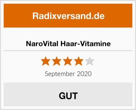 NaroVital Haar-Vitamine Test