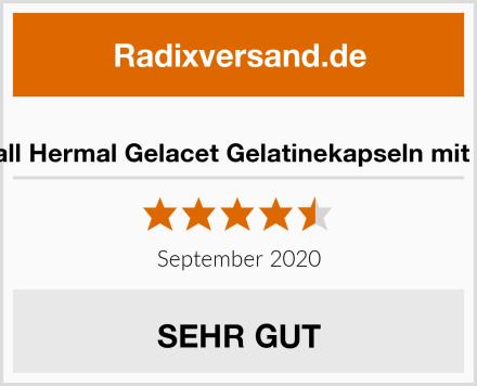 Almirall Hermal Gelacet Gelatinekapseln mit Biotin Test