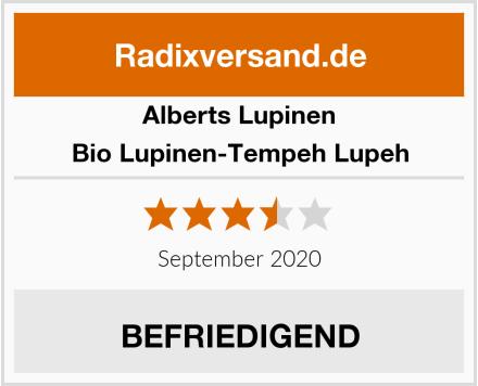 Alberts Lupinen Bio Lupinen-Tempeh Lupeh Test