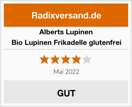 Alberts Lupinen Bio Lupinen Frikadelle glutenfrei Test