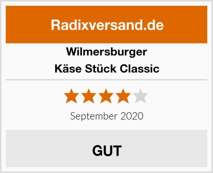 Wilmersburger Käse Stück Classic Test
