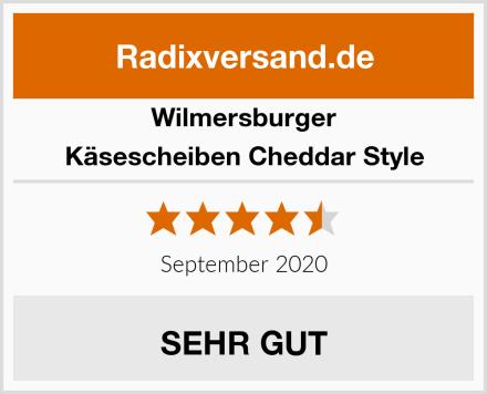 Wilmersburger Käsescheiben Cheddar Style Test