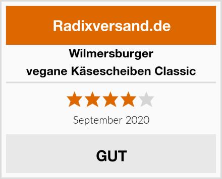 Wilmersburger vegane Käsescheiben Classic Test