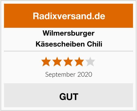 Wilmersburger Käsescheiben Chili Test
