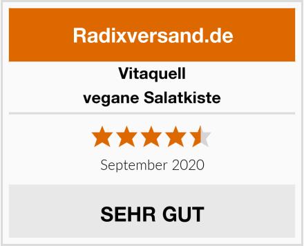 Vitaquell vegane Salatkiste Test