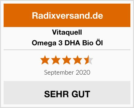 Vitaquell Omega 3 DHA Bio Öl Test