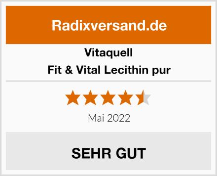 Vitaquell Fit & Vital Lecithin pur Test