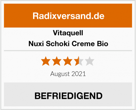 Vitaquell Nuxi Schoki Creme Bio Test