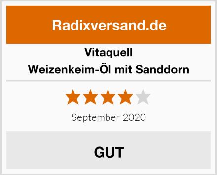 Vitaquell Weizenkeim-Öl mit Sanddorn Test