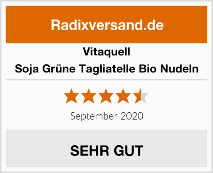 Vitaquell Soja Grüne Tagliatelle Bio Nudeln Test