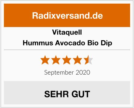 Vitaquell Hummus Avocado Bio Dip Test